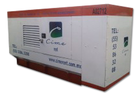 Generador eléctrico en renta
